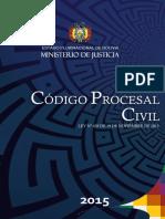 2773 Codigo Procesal Civil