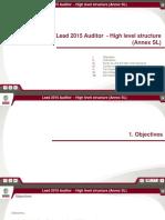 LEAD2015-Auditor Annex SL
