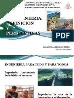 1. La Ingenieria , Definicion y Perspectiva.pptx