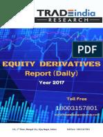 Daily Derivative Prediction Report 11.04.2018 by TradeIndia Research