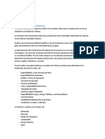 Marco Teorico Localizacion de Plantas