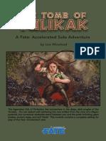 FAE Solo Adventure 1 - The Tomb of Tulikak