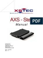 AXS Step Manual en Rev 5