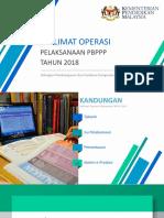 Taklimat Operasi PBPPP 2018