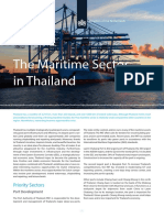 Thailand Factsheet Maritime Sector