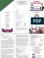 Dr Zakir Husain Foundation Brochure 2018