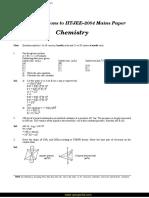 FIITJEE Solutions IIT JEE Main 2004 Chemistry