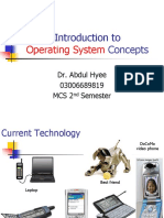 2- MID Course Introduction to Operating System Concepts HYEE SB