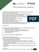 Normas de Participación y Publicación Eilij 2017
