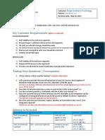 CGX Access POC Plan and Summary