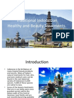 Traditional Indonesian Beauty Treatments