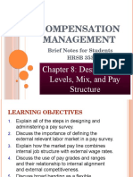 Chapter 8 - Designing Pay levels_ mix and pay structures.pptx