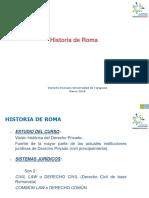 Clase Historia de Roma, 07.03.2018