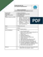 Job Sheet Praktek Memandikan Pasien