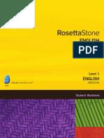 Rosetta StoneEnglish (American) Level 1 - Student Workbook