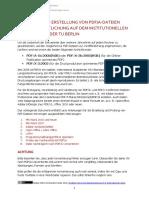 Erstellen Von Anleitungen PDF
