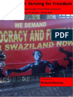 Swaziland Striving for Freedom Vol 29 January to March 2018