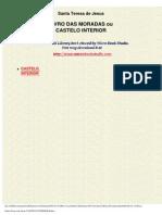 Teresa de Ávila - as moradas ou Castelo Interior