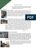 Descrição do percurso Rota das Rochas Ftaníticas