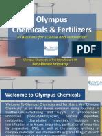 Fenofibrate Impurities Manufacturer | Fenofibrate Impurity A, B, C, D, E, F, G | Olympus Chemicals & Fertilizers