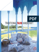 Traditional Tajik Embroidert