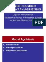 Sumber-sumber Modal Agribisnis 2 Ok