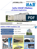 Sodium-Sulfur (NAS) Battery NAS Battery Applications