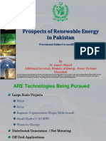 Prospects of Renewable Energy in Pakistan