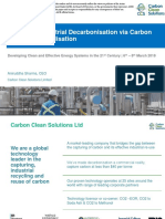 Profitable Industrial Decarbonisation via Carbon Capture and Utilisation