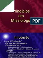 1. Introdução à Missiologia