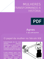 Mulheres Transformando a História