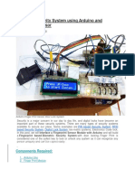 Biometric Security System Using Arduino and Fingerprint Sensor