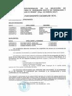 Resutados Provisionales Selec. Cacabelos II Verde22112017