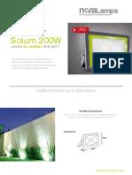 Reflector Solum 200W