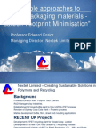#Sustainable Plastic and Food Packaging 20070411