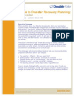 Disaster Recovery Planning Whitepaper