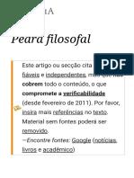 Pedra Filosofal – Wikipédia, A Enciclopédia Livre