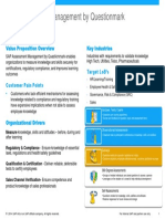 Sales Battlecard_SAP Assessment Management by Questionmark_Jan 2014