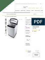 LG Lavadora Automática 16 Kg WT16DSB - Falabella.com