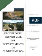 Estado Vial Cundinamarca