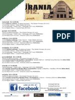 Program Kina Urania 12.4.-18.4.2018