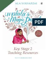 Malala's Magic Pencil TES Resources