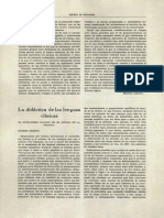 Didáctica de Las Lenguas Clásicas