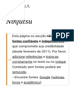 Ninjútsu – Wikipédia, A Enciclopédia Livre