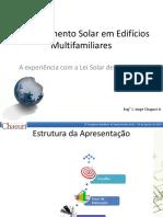 A Experiência Com a Lei Solar de São Paulo