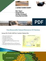 Nasir Soomro Thar Coal a Gateway to Energy Resources