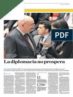 La Diplomacia No Prospera