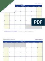 Calendario Escolar 2018 Listo Completo