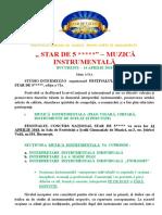 1.Regulament - Concurs Editia a via.doc INSTRUMENTE