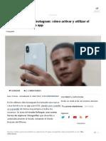Modo Enfoque en Instagram_ Cómo Activar y Utilizar El Modo Retrato de La App